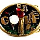 1982 Baseball Enameled Belt Buckle 51514 Great American Buckle Co.