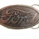 Vintage FORD Belt Buckle By WYOMING STUDIO ART WORKS 91517