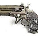 1978 Derringer Pistol Gun Belt Buckle By Bergamot Made In USA 112417