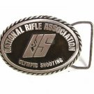 National Rifle Association Olympic Shooting Belt Buckle W/ Papers Unbranded 5916