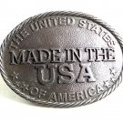 United States of America Made In USA Belt Buckle By BUCKLE DESIGN USA 9317