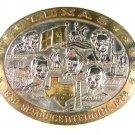 1836 - 1986 Texas Sesquicentennial Belt Buckle Rhodes Collectors Society 22816