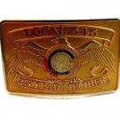 International Union of Operating Engineers Local 545 Belt Buckle