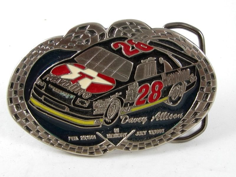 In Memory 1961 - 1993 - DAVEY ALLISON Belt Buckle 91416