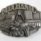 Vintage 1987 MECHANIC Belt Buckle By Siskiyou Made In USA 91517