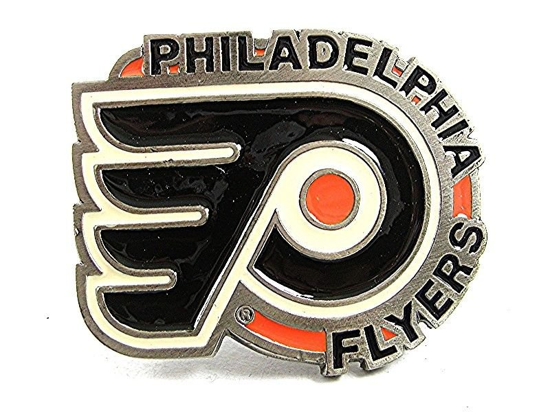 1991 PHILADELPHIA FLYERS NHL Belt Buckle By GABC Made In USA 102017