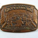 1988 125th Anniversary Battle of GETTYSBURG Bronze Belt Buckle By HPM 112917