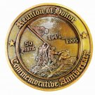 Armed Services U.S.A. Reunion of Honor 50 YearsBrass Medallion Unbranded