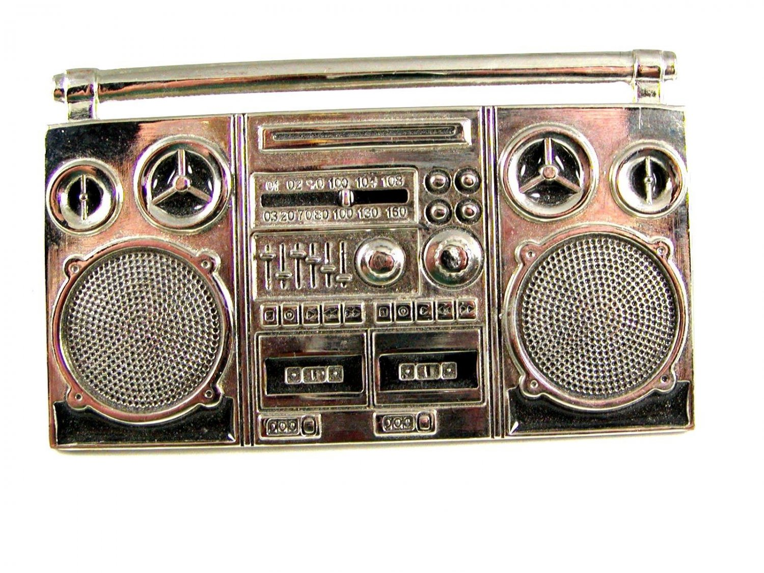 Big Boom Box Belt Buckle 61914