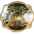 Lemhi County 2011 Sr. High Point Pig Belt Buckle by MONTANA SILVERSMITHS
