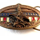 Vintage Starshine United States Consitutional Convention Bicentennial Belt Buckl
