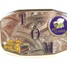 Deco TOM Seabees Bulldozer Belt Buckle By HOOK FAST PAT 1481911 52416