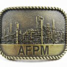 AFPM American Fuel & Petrochemical Manufacturers Belt Buckle Unbranded 101015