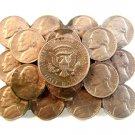 Vintage Jefferson Nickle & Half Dollar Coin Belt Buckle