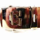 Military / Army Clamp Style Initial / Letter G Belt Buckle 9616