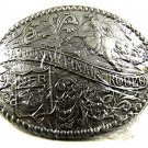 1992 National Finals Rodeo Belt Buckle By ADM Mint In Plastic 12817