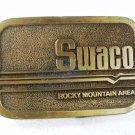 Swaco Rocky Mountain Area Oilfield Belt Buckle By HIT LINE USA 3516