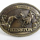 1980 National Finals Rodeo Belt Buckle By HESSTON 9817