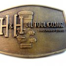 Vintage H & H Oil Tool Co., Inc. Hydril 3X-1000 Belt Buckle
