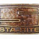 1976 STA-RITE Brass Belt Buckle 8216