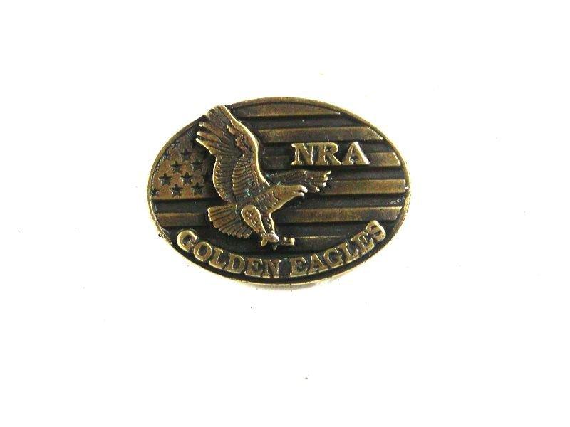 NRA National Rifle Association Golden Eagle Tie Tac Unbranded 31516