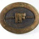 Safety Award Brass Belt Buckle By BTS MADE IN USA 31616
