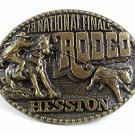 1978 National Finals Rodeo Belt Buckle By HESSTON 102517