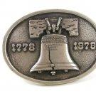 1776- 1976 Liberty Bell Belt Buckle By BERGAMONT 11216