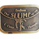 The Sodium SLUMP of 79 I Came Through Belt Buckle Unbranded 42016