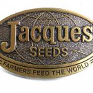 1977 Jacques Seeds Farmers Feed The World Belt Buckle Limited Edition 102517