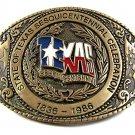 Official 1986 Texas Sesquicentennial Celebration Belt Buckle 112717