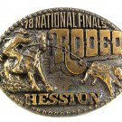 1978 National Finals Rodeo Belt Buckle By HESSTON 4th Edition 12317
