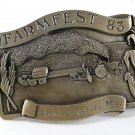 1983 FARMFEST Lake Crystal, MN Belt Buckle 11316