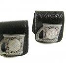 Vintage Beer Stein / Mug Leather Wrap Around Cufflinks By ANSON 71717