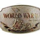 1992 World War II Remembered Belt Buckle By D.I.I.  81716