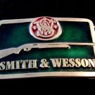 Vintage Smith & Wesson Enameled Belt Buckle