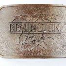 Vintage Remington Park Oklahoma City Belt Buckle Unbranded 5416