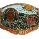 National Corn Utilization project NCGA Funk's Hybrid Belt Buckle By GABC 51217