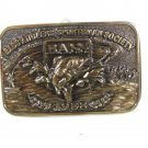 1988 Bass Anglers Sportsman Society Belt Buckle By GREAT AMERICAN BUCKLE CO 6416