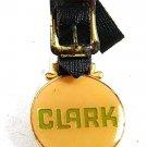 Vintage CLARK Enameled Watch Fob 101617