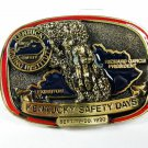 1990 Kentucky Mining Institute Safety Days Belt Buckle Unbranded U.S.A. 111915