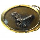 1983 American Eagle Belt Buckle By Great American Buckle Co. Made In USA 102615