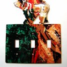 Bear Triple Light Switch Cover Plate Steel Images Made in USA 02161511111W
