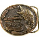 1949 - 1989 Limited Edition 40th Anniversary Edition Zebco Belt Buckle