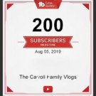 YOUTUBE SUBSCRIBERS  200SUBS *
