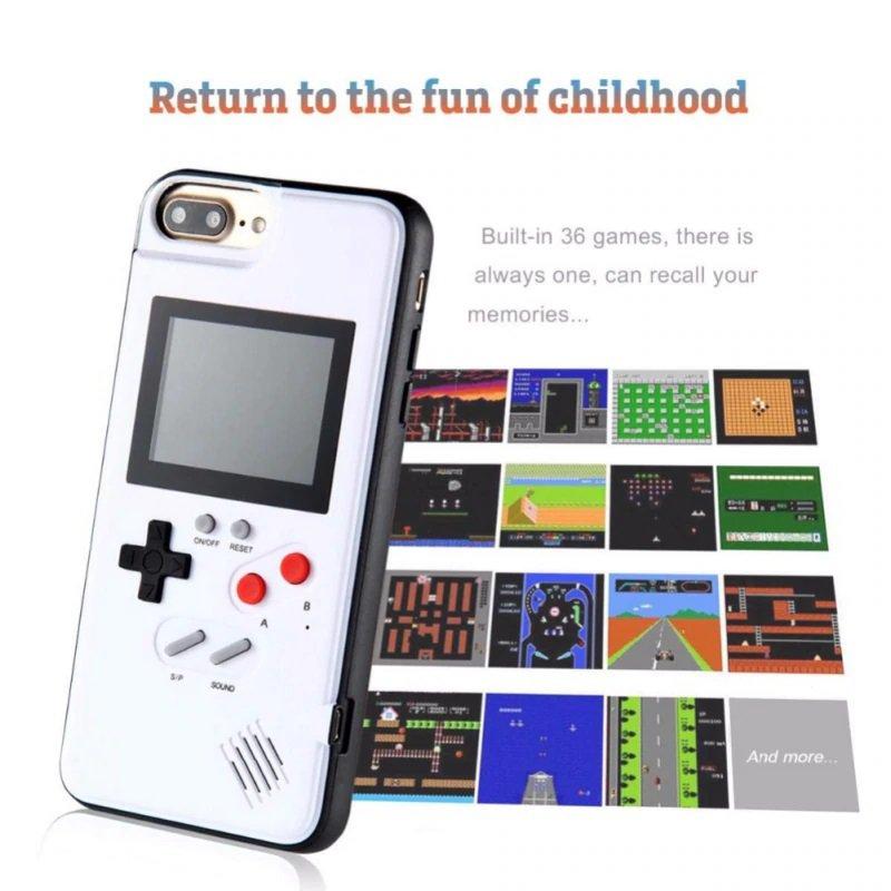 Iphone Gameboy Case 36 games installed