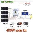 400W solar panel kit & PV Combiner Box