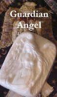 Alluring Sculptured Guardian Angel Emu Oil Soap 5 oz