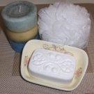 Unscented Color-Free Emu Oil Soap Victorian Bath Bar Sylvan Lane