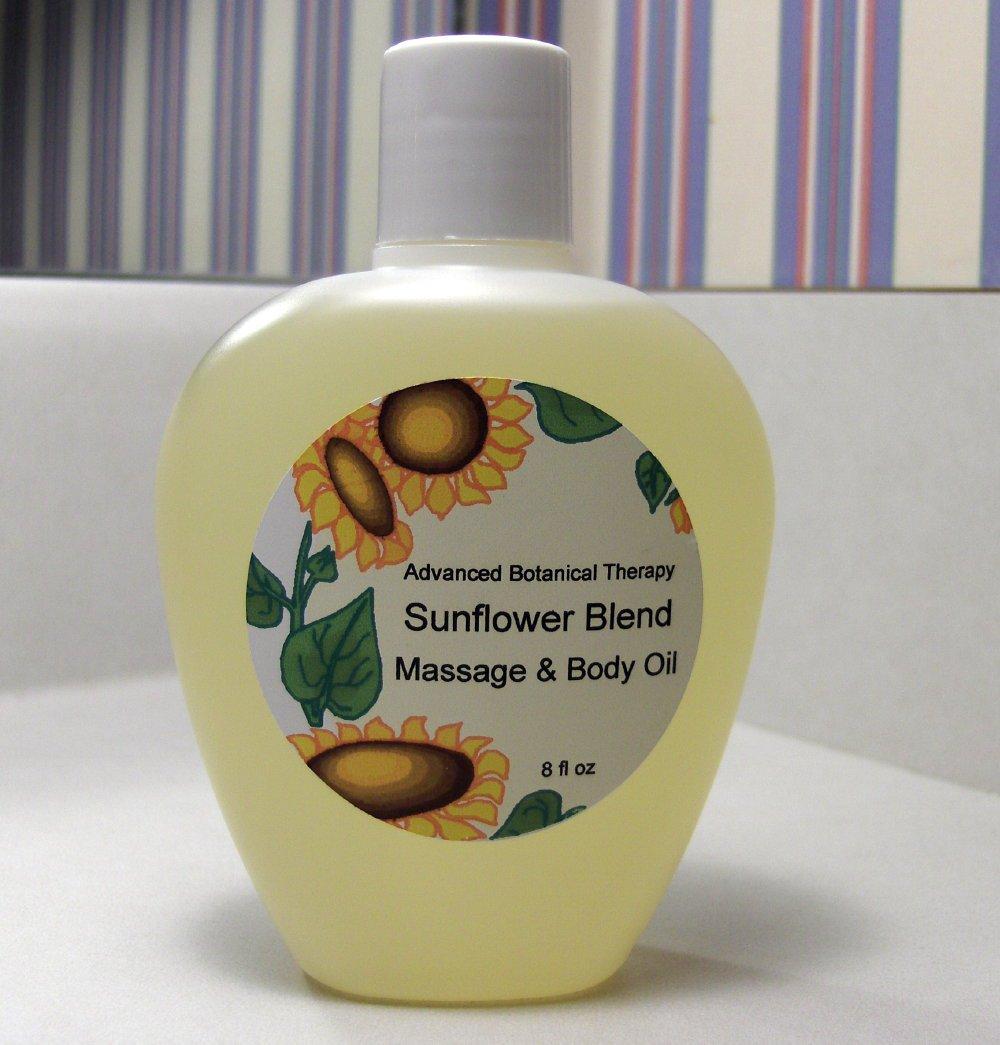 Relaxing Formula ABT All Natural Massage Oil 8 oz Vegan